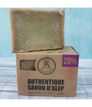 Jabón de Alepo 20%