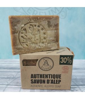 Jabón de Alepo 30%