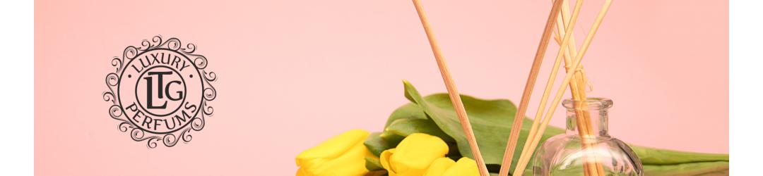 Ambientador mikado premium con esencias naturales. Luxury Perfums LTG